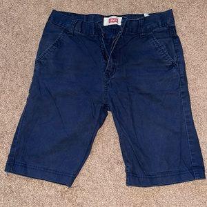 Levi's boys navy blue shorts